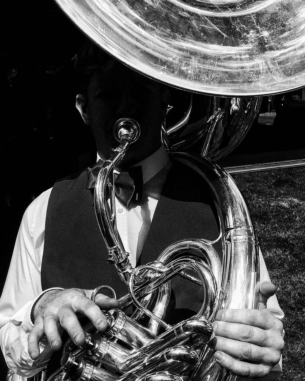 """Hanging On The Sousaphone"""