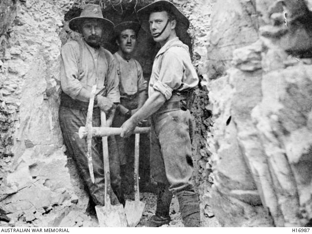Mineros australianos