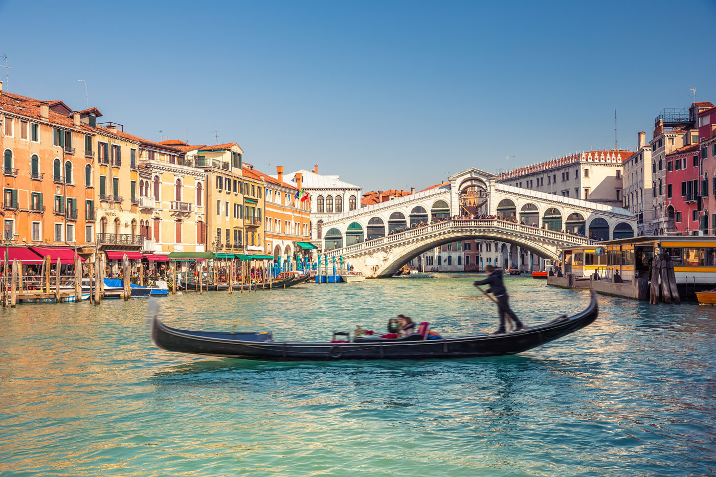 El hombre de Vitruvio en Venecia