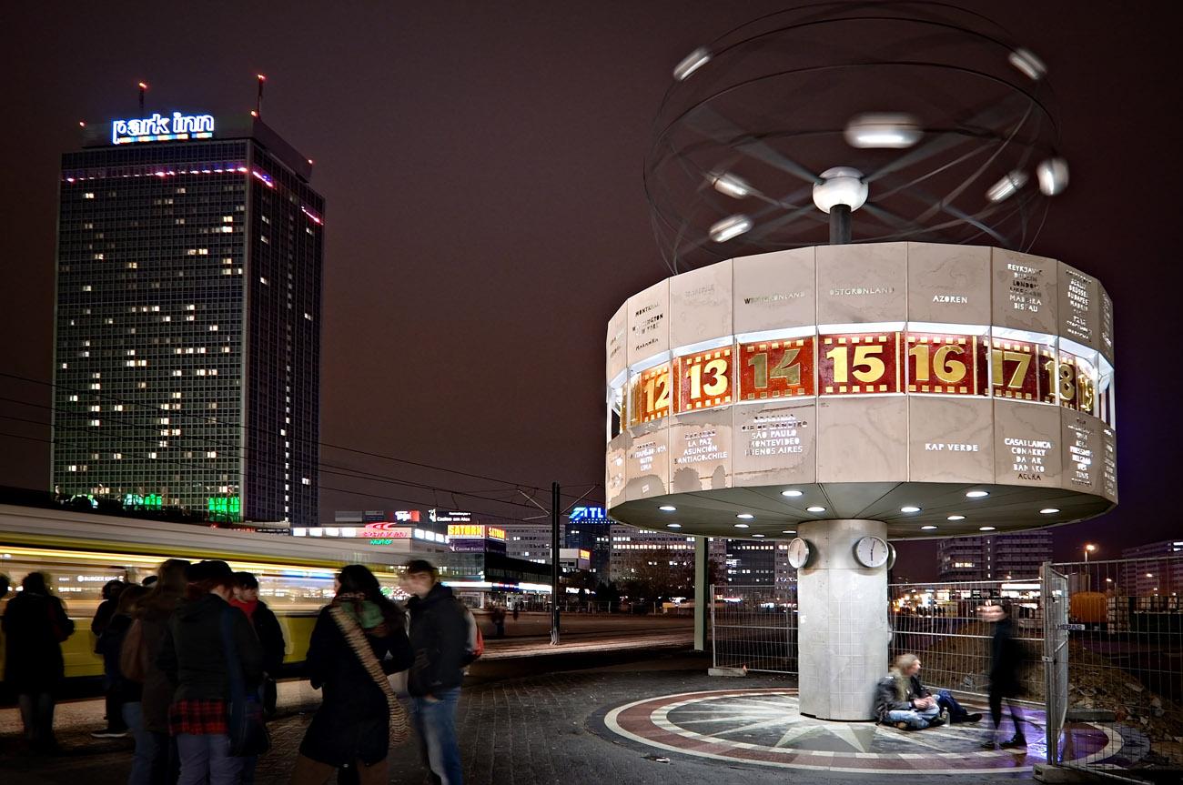 Un reloj universal en Berlin