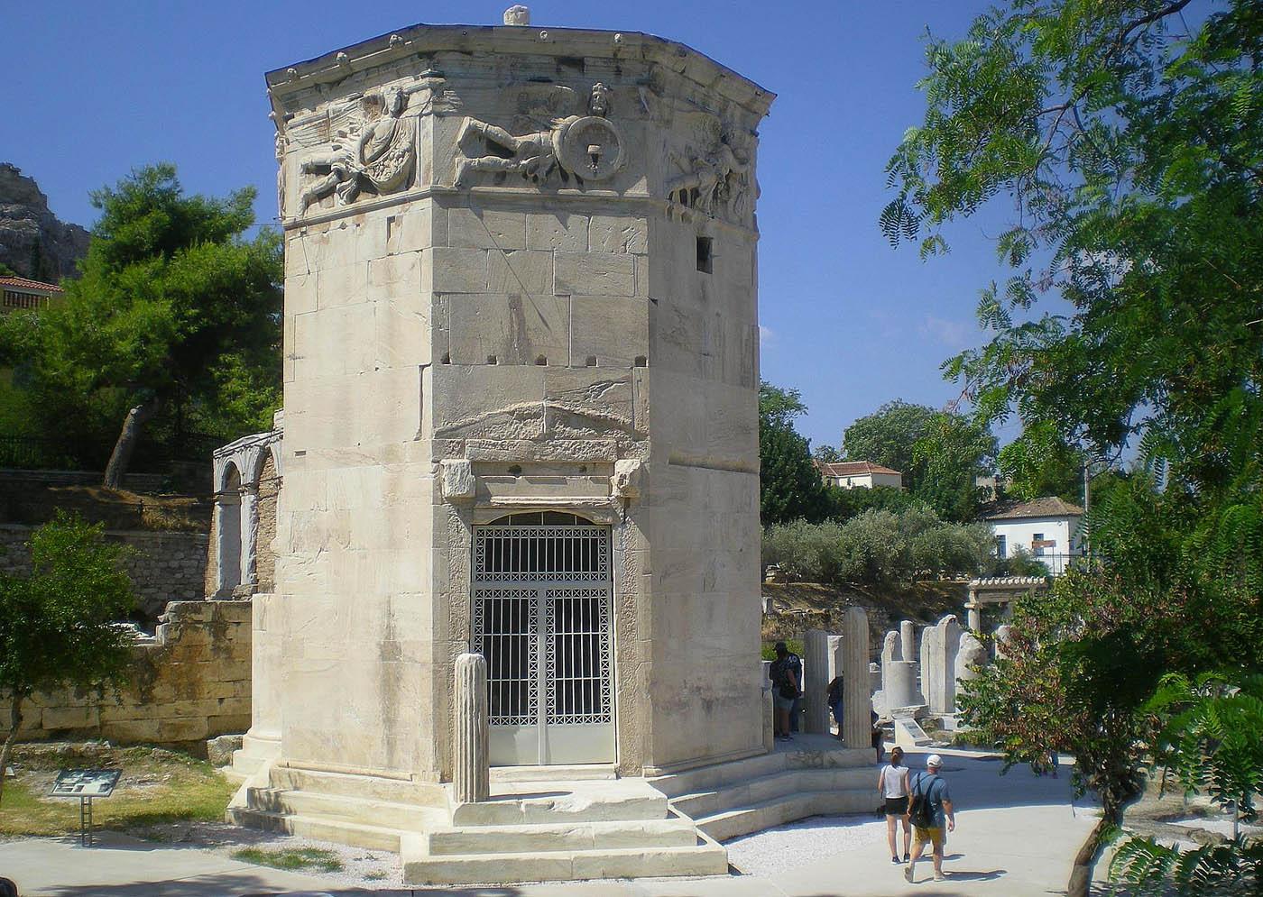 Un reloj para dioses en Atenas