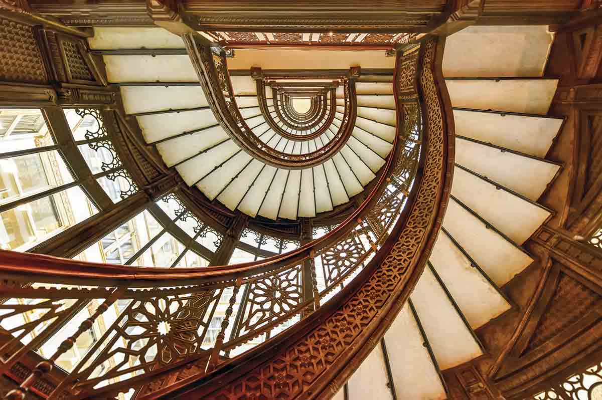 Escalera del The Roockery