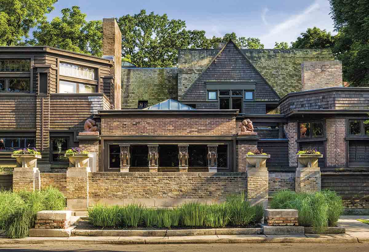 Casa-estudio en Oak Park, Chicago