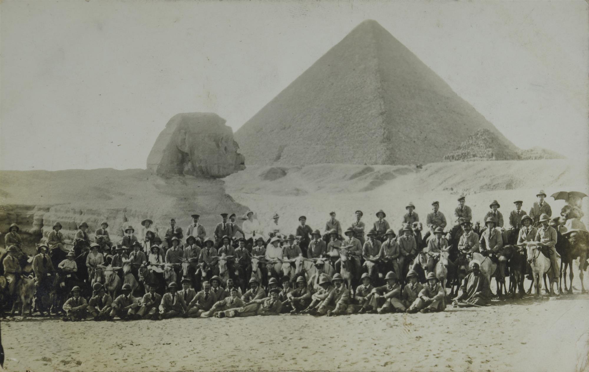 Reúnen más de 2.000 fotos inéditas de Egipto y Palestina durante la Primera Guerra Mundial