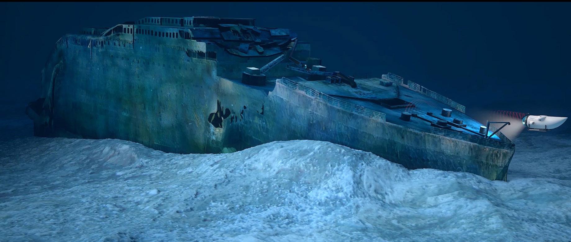 Una travesía a las profundidades del Titanic