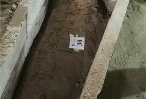 Momia y sarcófago
