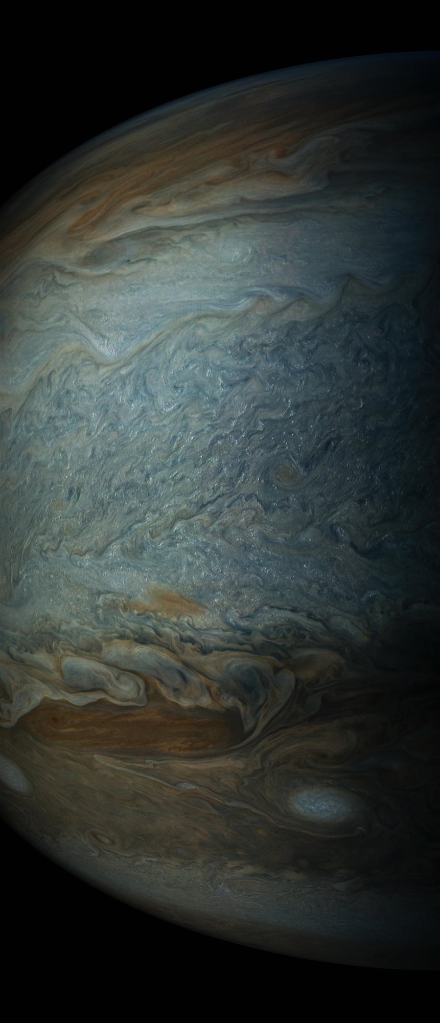 jupiter7. Nubes brillantes