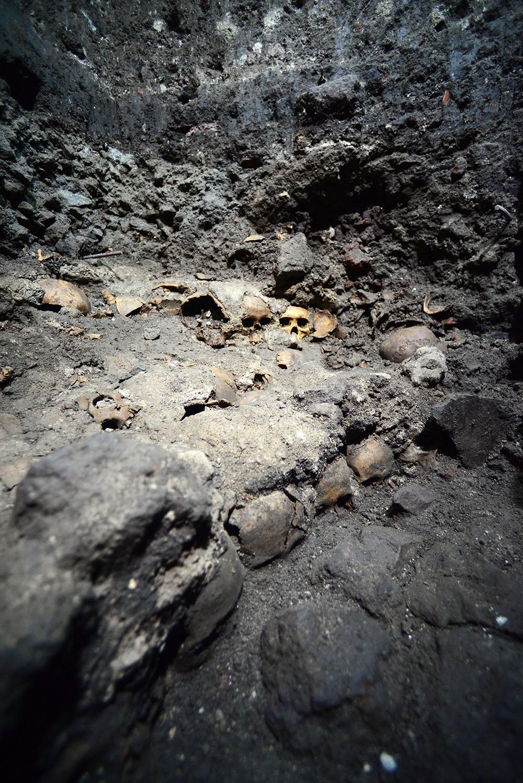 Cráneos aztecas