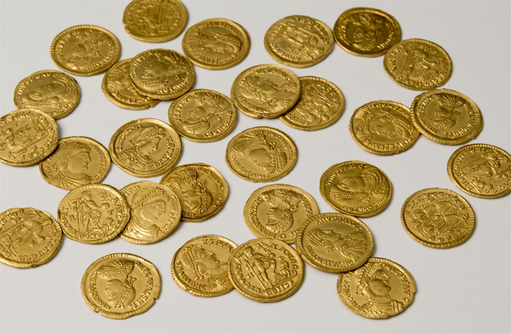 Descubierto un tesoro de finales del Imperio romano en los Países Bajos