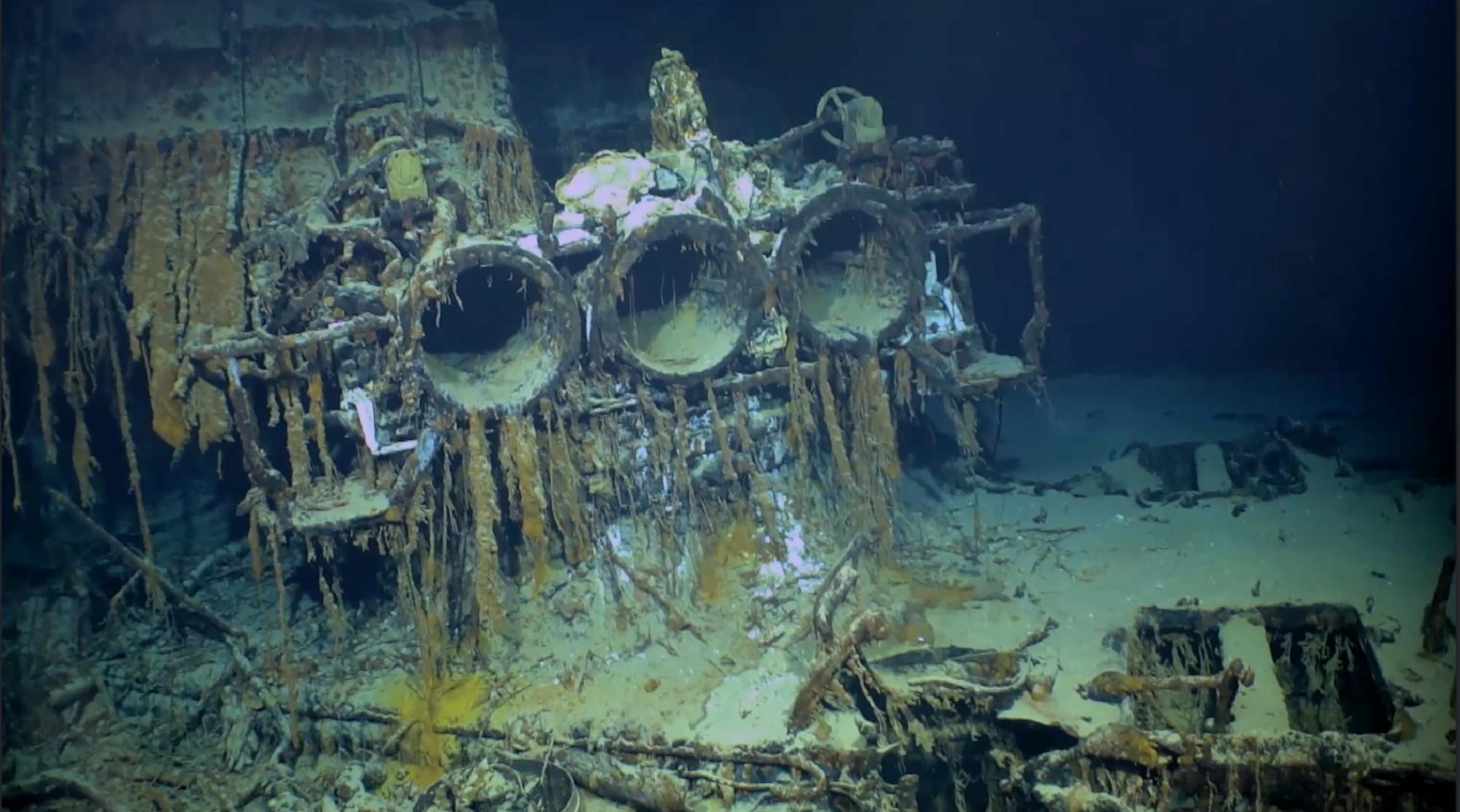 Localizado un destructor italiano de la Segunda Guerra Mundial a 3.700 metros de profundidad