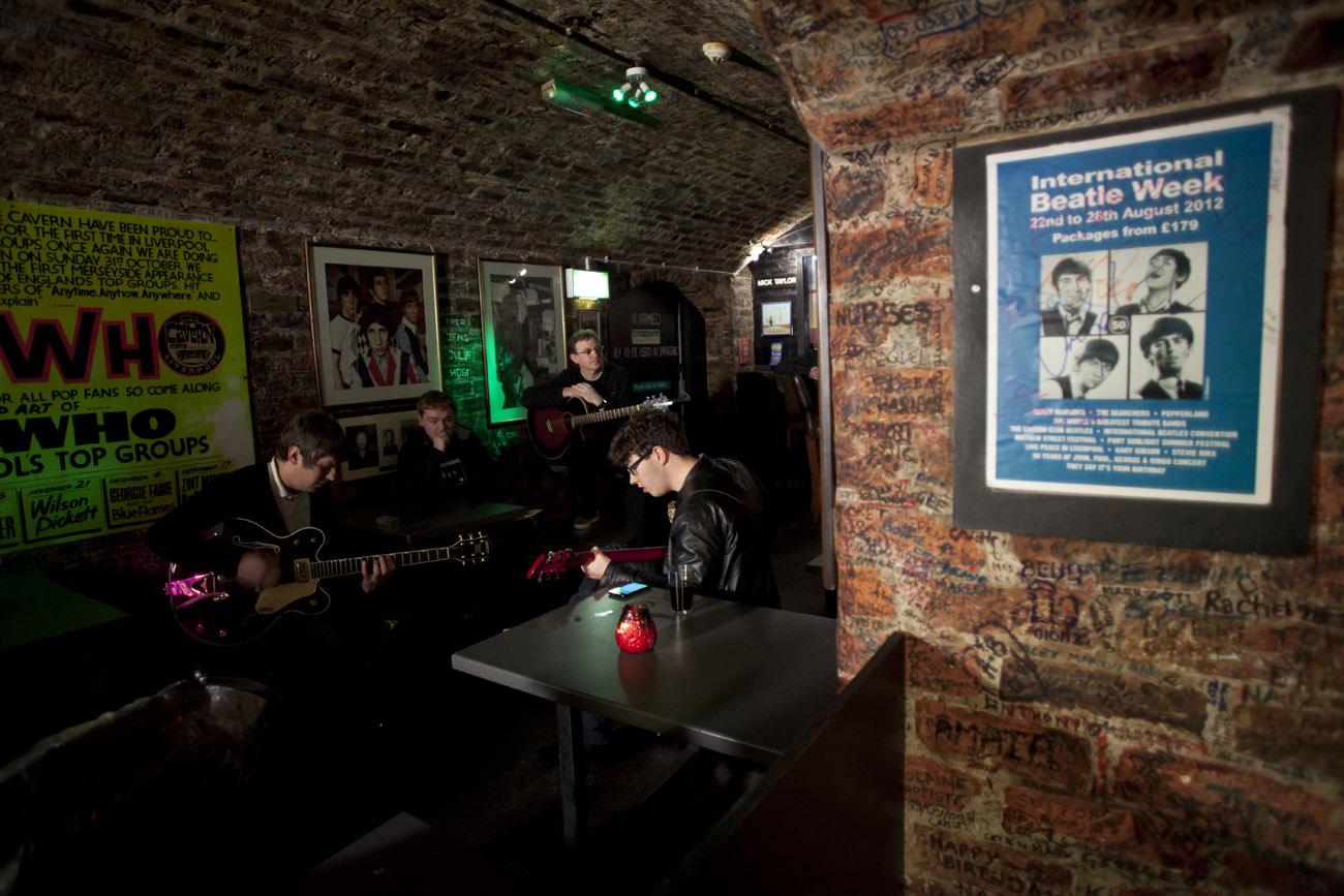 Liverpool. Liverpool suena a Beatles y rock