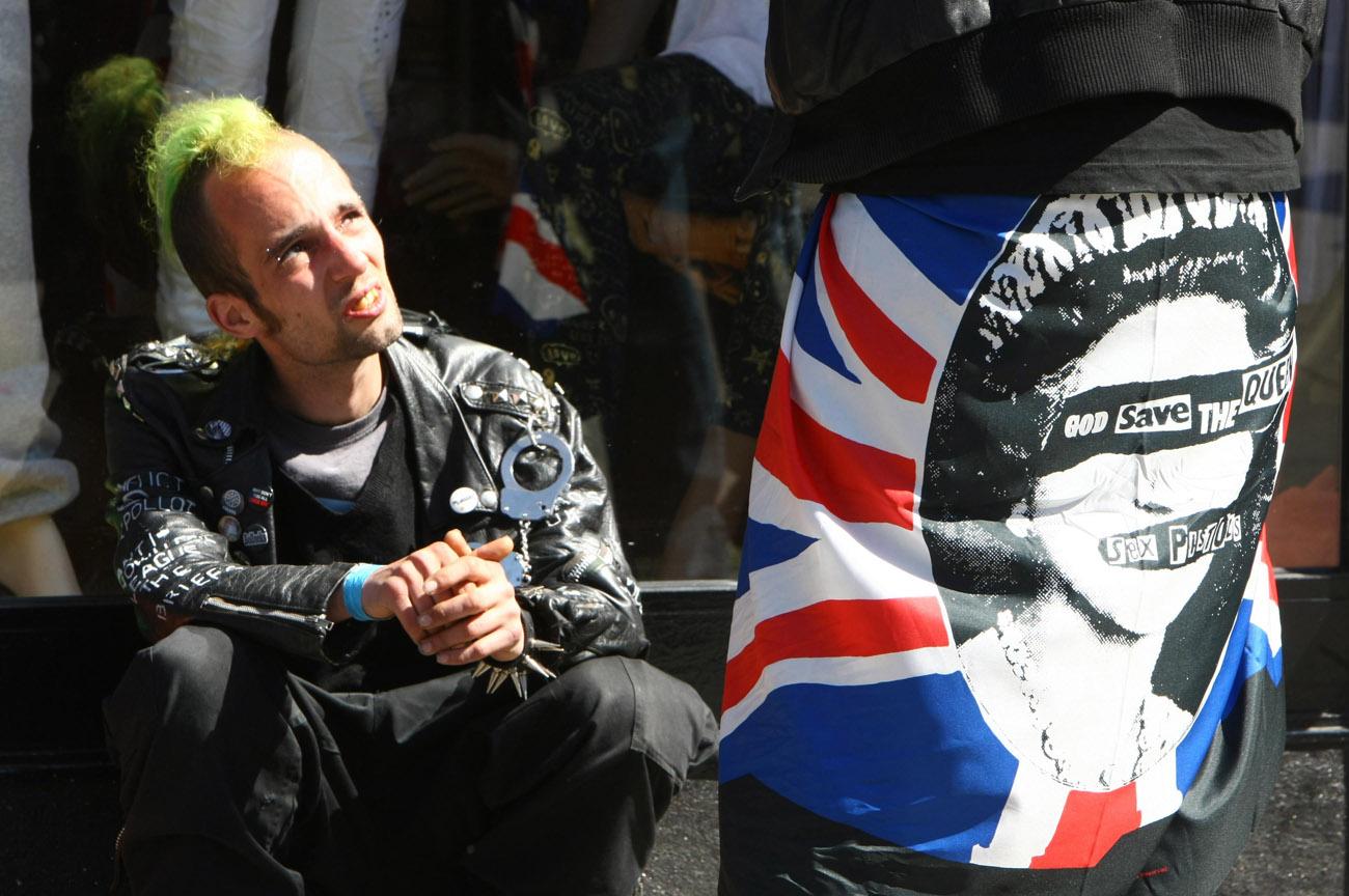 Londres. Londres suena a punk
