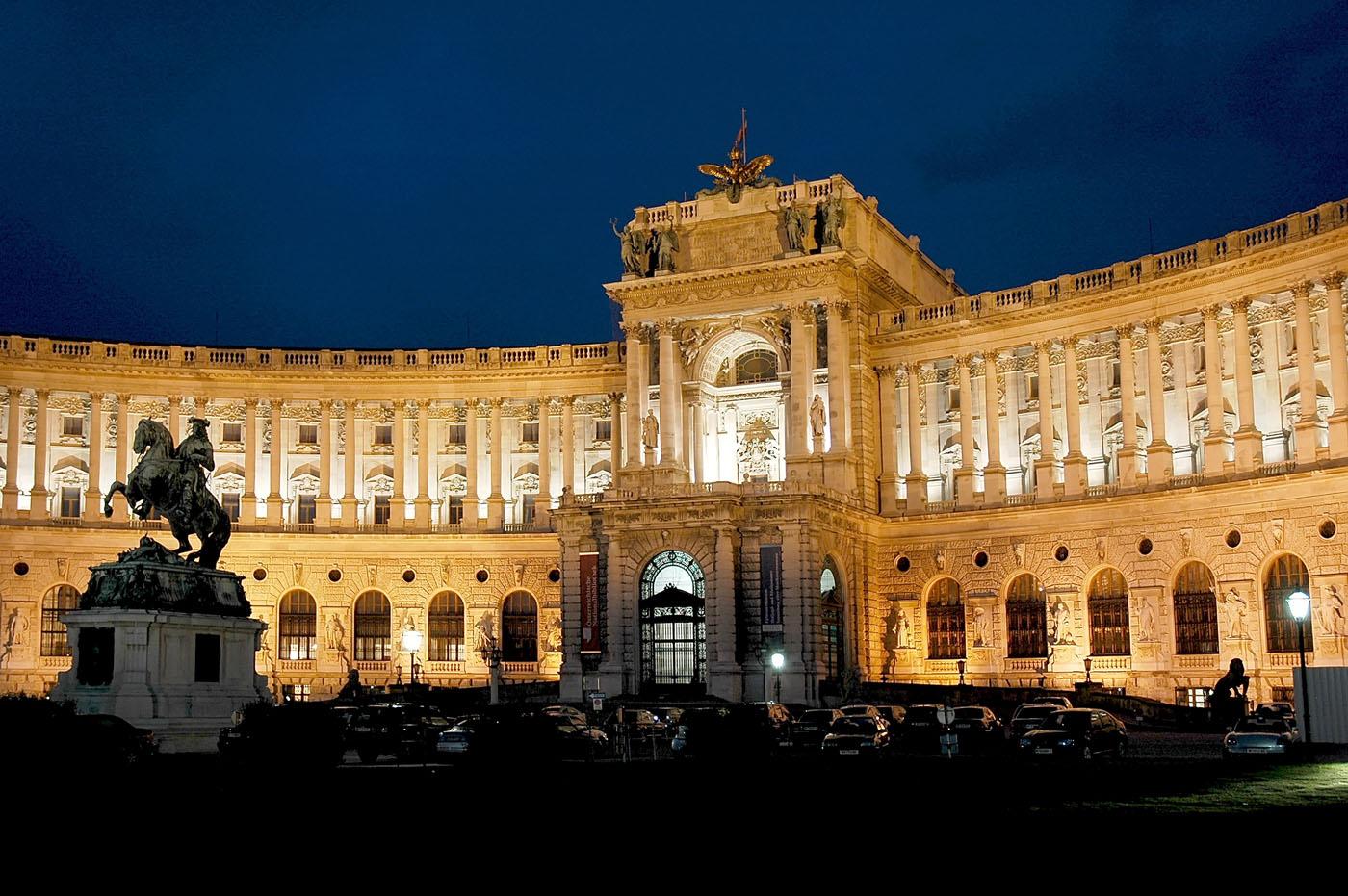 Viena Palacio Imperial. Viena y la ópera