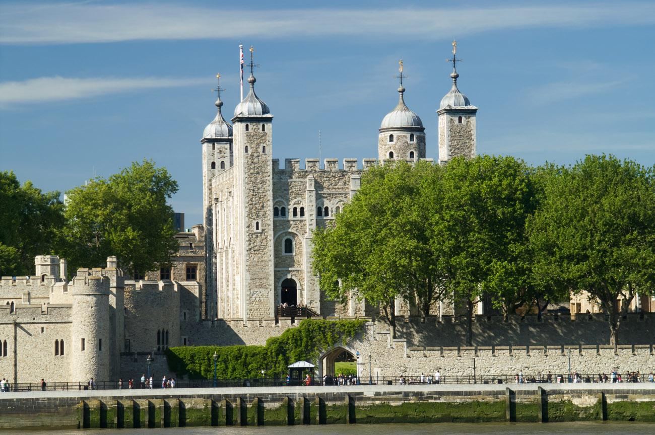 La Torre de Londres. La Torre de Londres (Londres, Inglaterra)