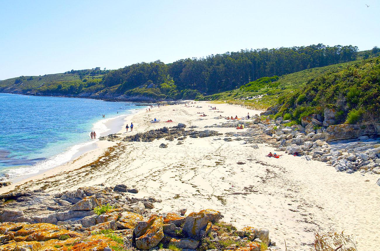 11B-Praia de Melide-Illa de Ons-Bueu 01 web. Playa de Melide, Isla de Ons (Pontevedra)