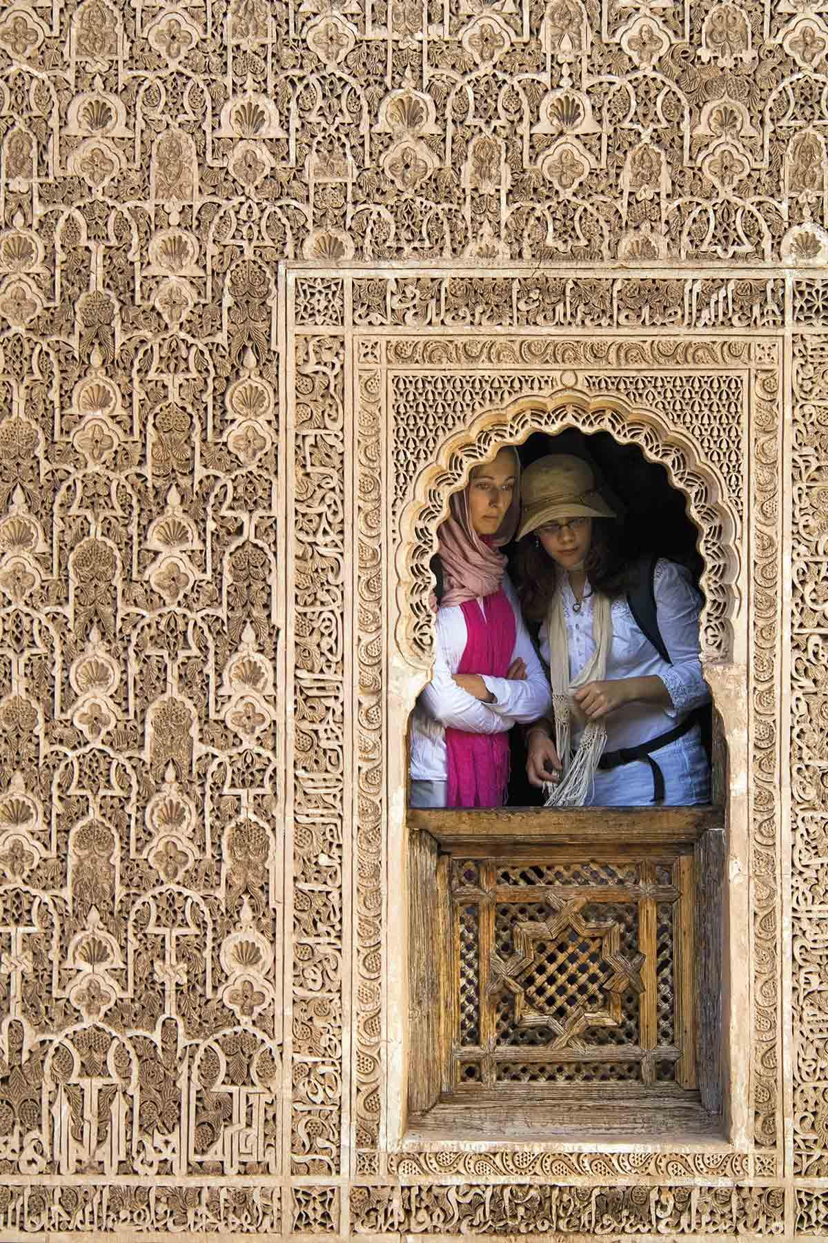 GettyImages-599334864. Madrasa Ben Youssef