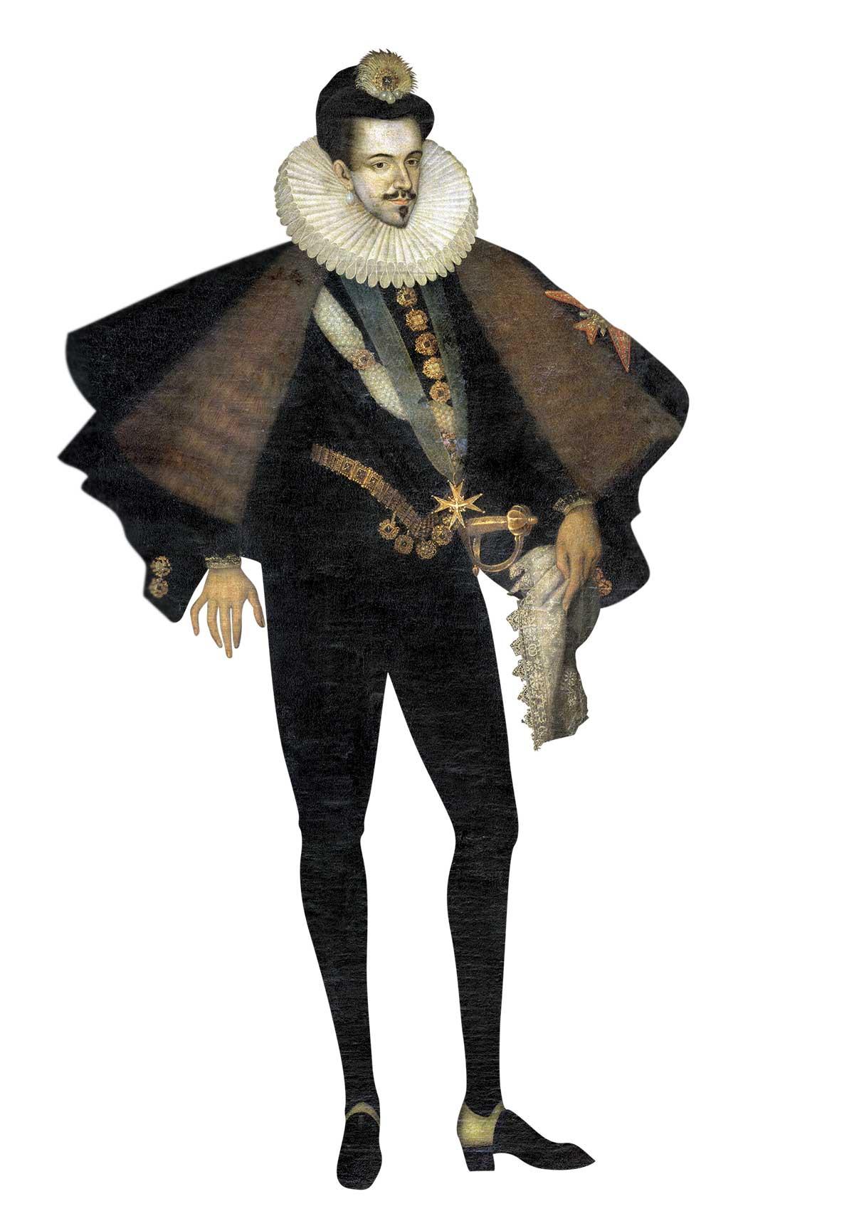 album les40110935. Enrique III. Retrato anónimo. Siglo XVI. Museo del Louvre, París.