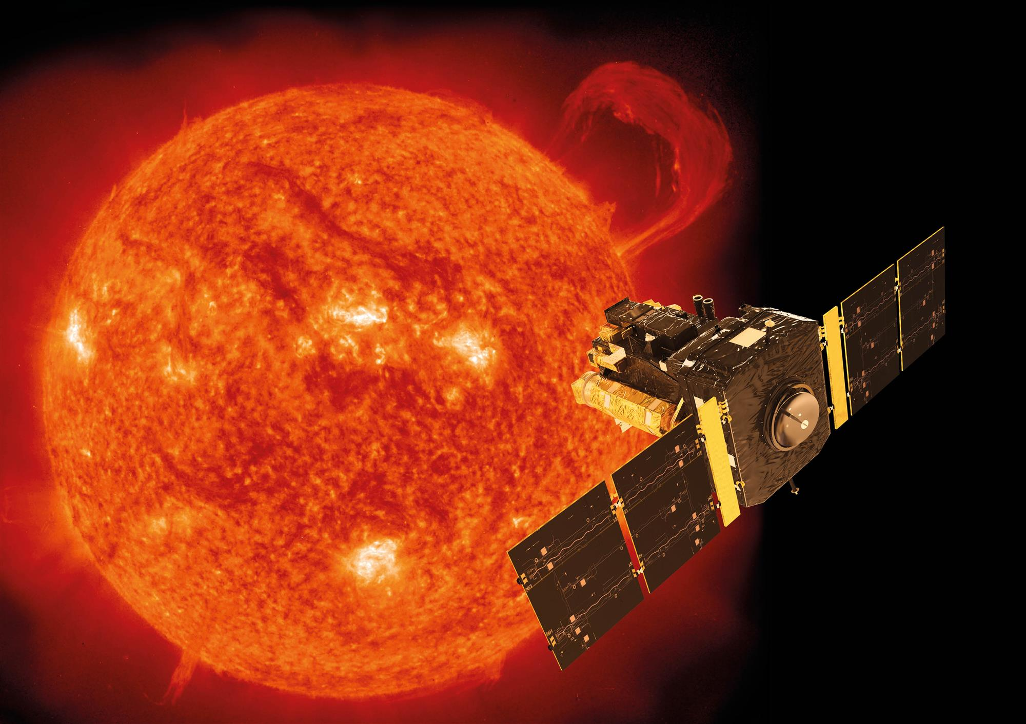 nasa satellite to the sun - 875×619