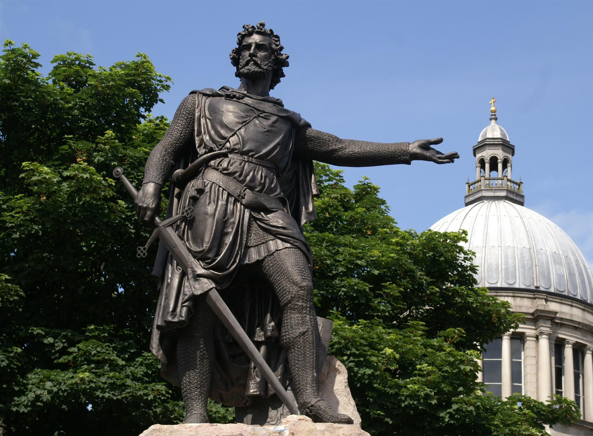 Estatua de William Wallace en Aberdeen