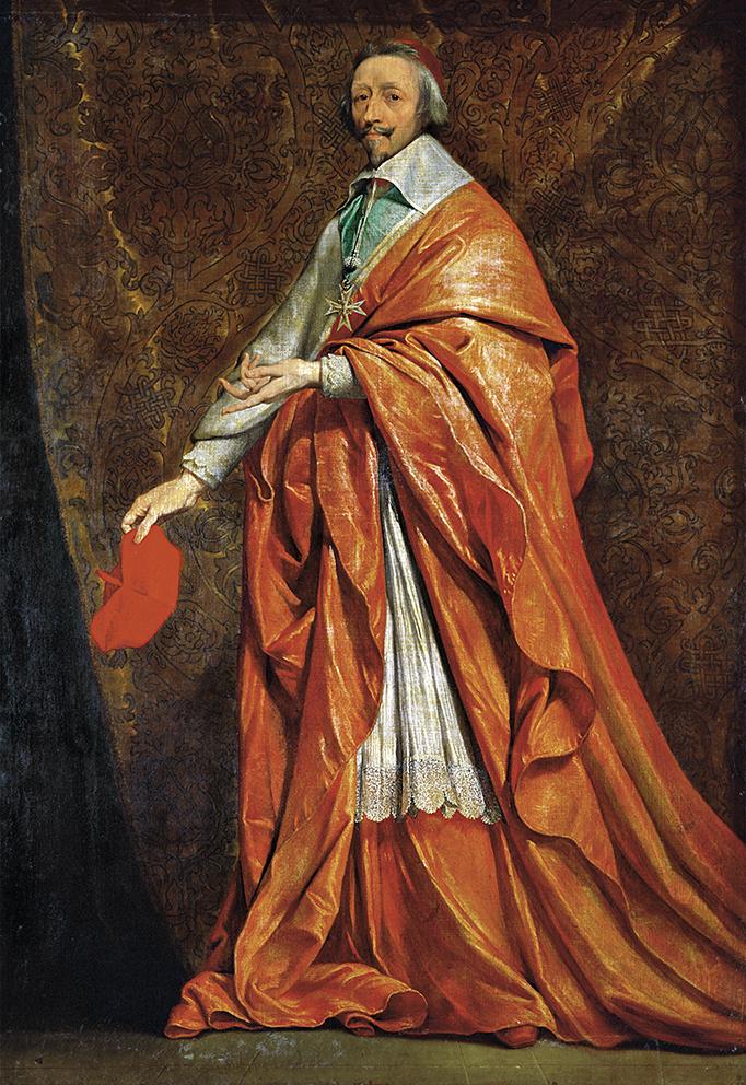 El poder de un favorito, el cardenal de Richelieu
