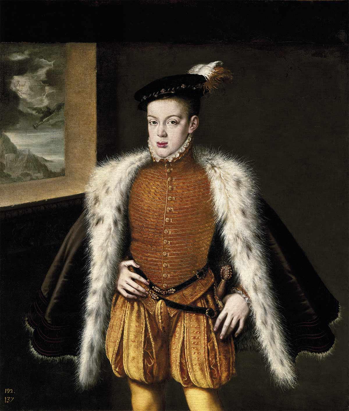 El príncipe Don Carlos, la tragedia del hijo de Felipe II