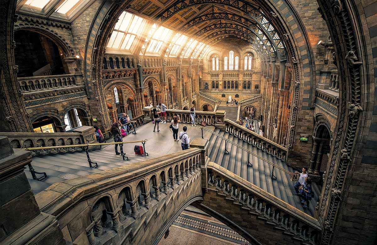 londres-historia. Museo de Historia Natural de Londres