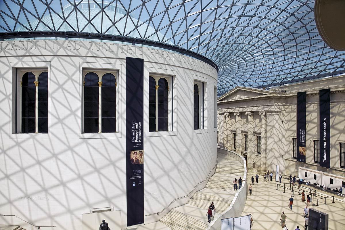 londres-museo. El Museo Británico de Londres