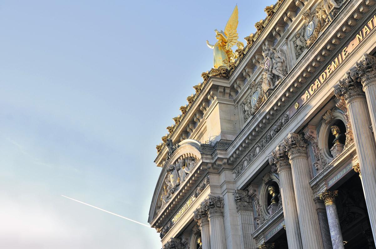 El fantasma de la ópera de París