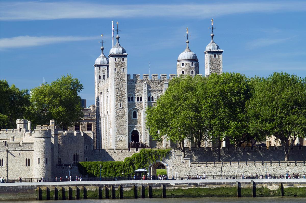 Los cuervos en la Torre de Londres