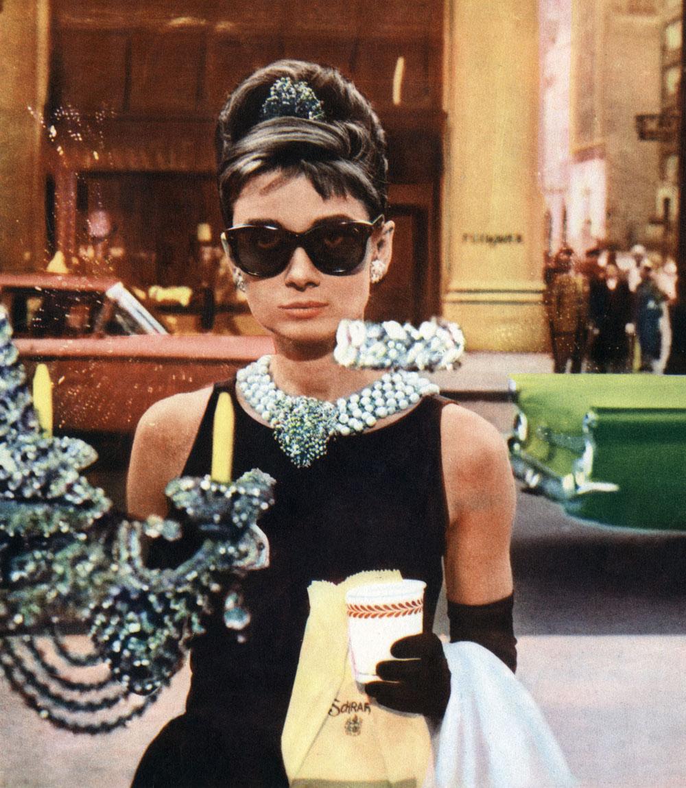 """Audrey Hepburn en 'Desayuna con diamantes'. Audrey Hepburn en """"Desayuno con diamantes"""""""