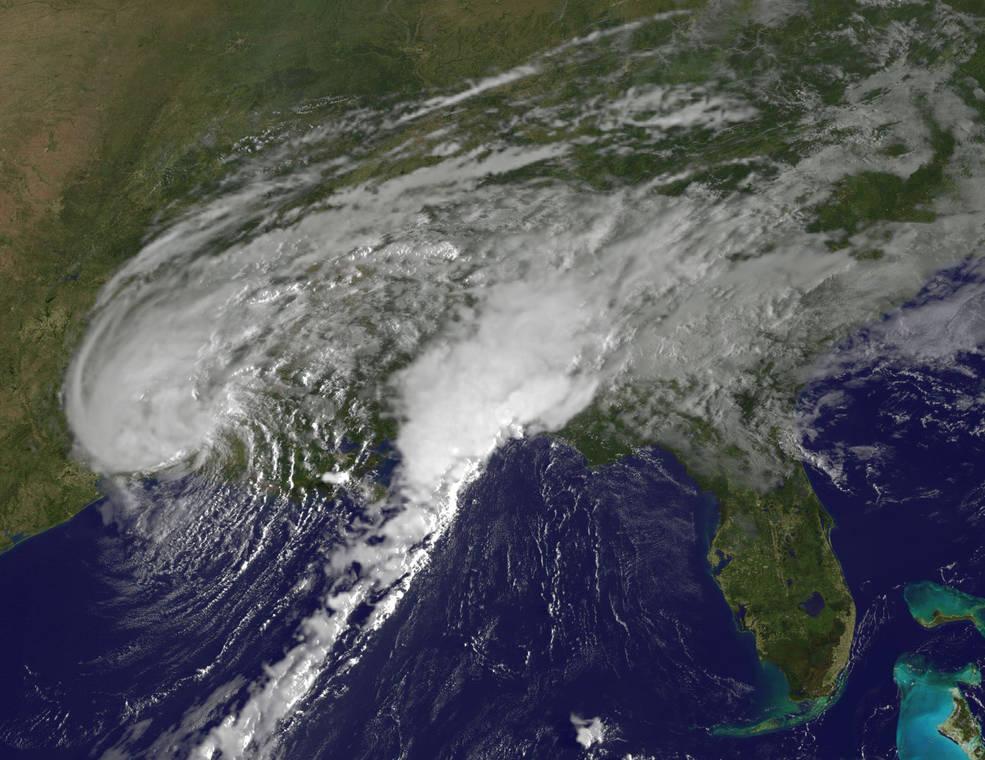 El huracán Harvey