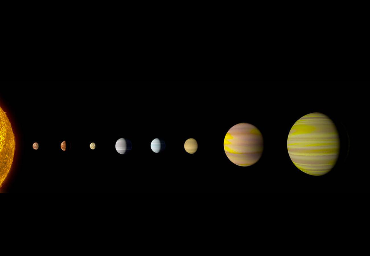 Kepler-90, Un Sistema Solar Muy Parecido Al Nuestro, Con 8
