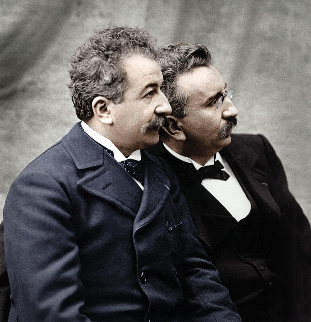 Los hermanos Lumière y el nacimiento del cine