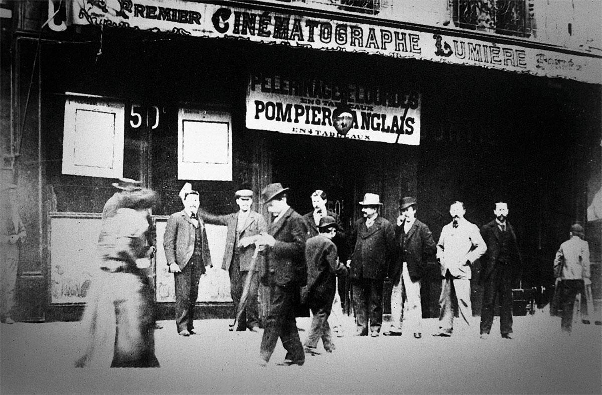 lumieres-teatro. Cinematógrafo Lumière
