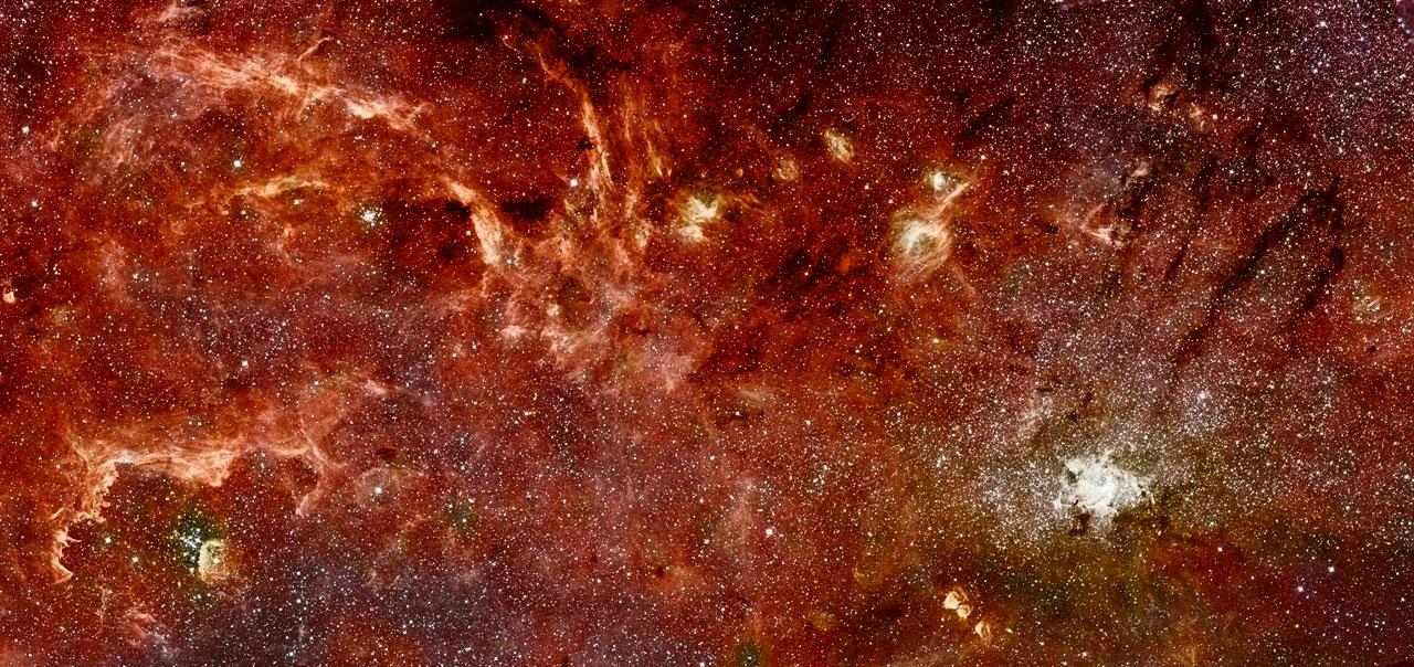 La galaxia caníbal