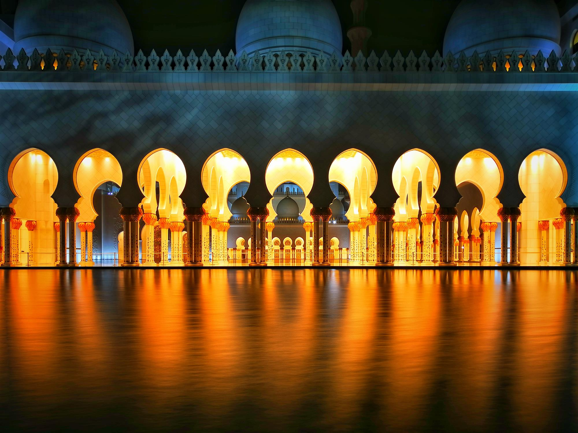 Sheikh Zayed Grand Mosque, Abu Dhabi, UAE mejores fotos del 2018