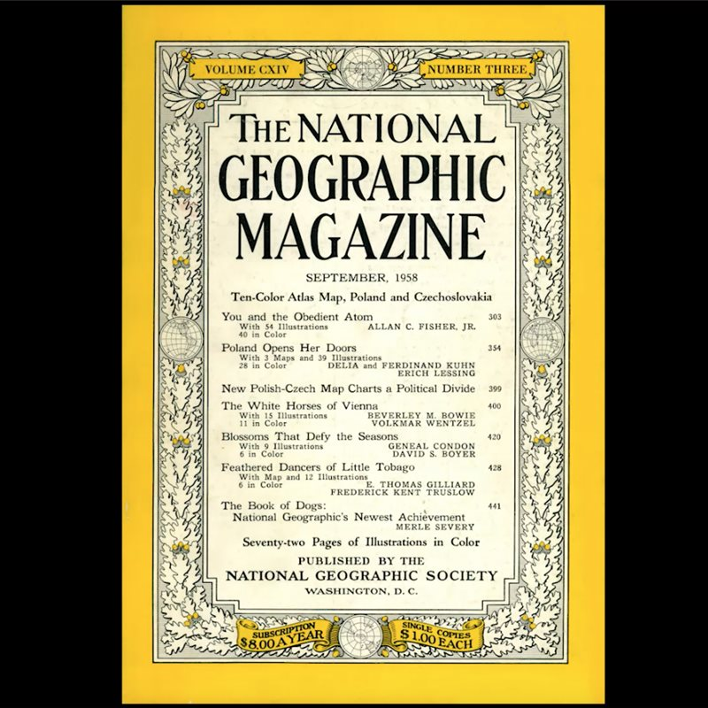 130 años de National Geographic