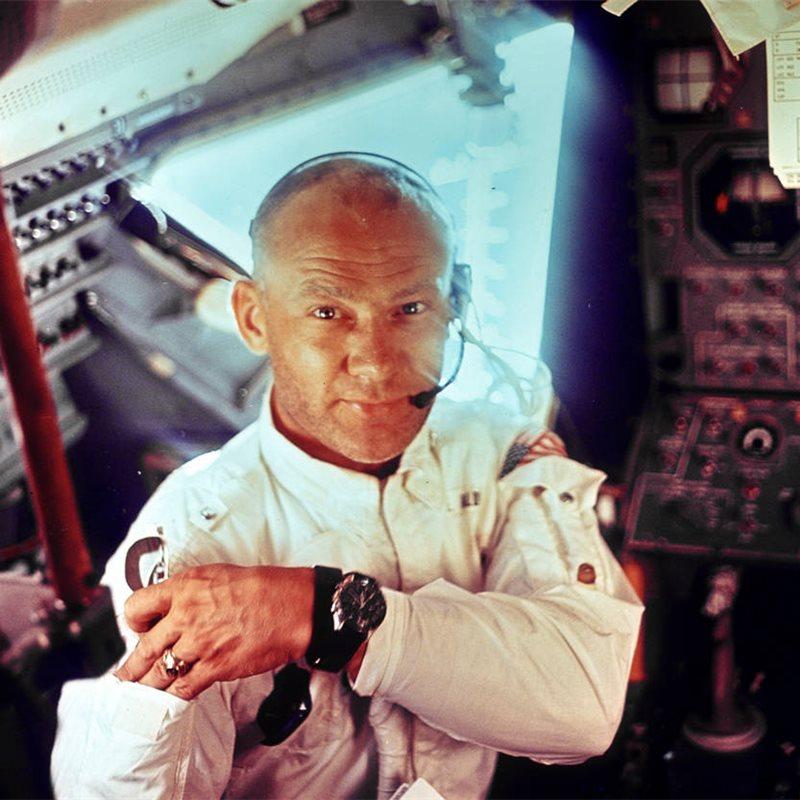 ¿Por qué debemos seguir explorando el espacio? entrevista a Buzz Aldrin