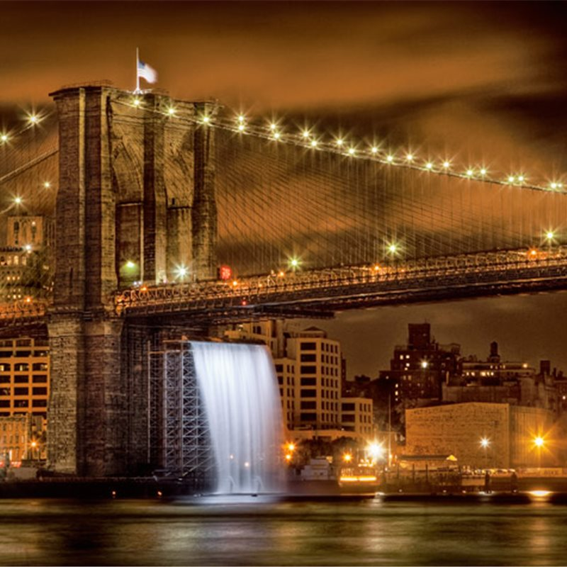 Puente de Brooklyn, Nueva York; Estados Unidos