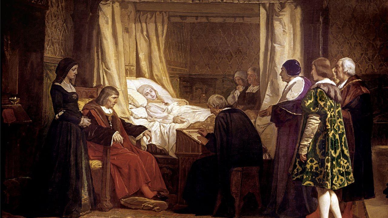 Resultado de imagen de la muerte de isabel la catolica