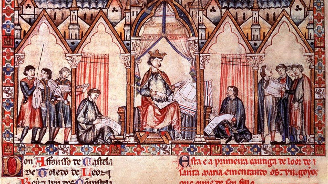 Un Rey Tres Culturas La Corte De Alfonso X
