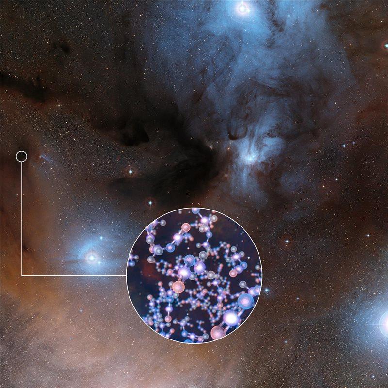 Detectan un ingrediente de la vida alrededor de un grupo de estrellas muy jóvenes
