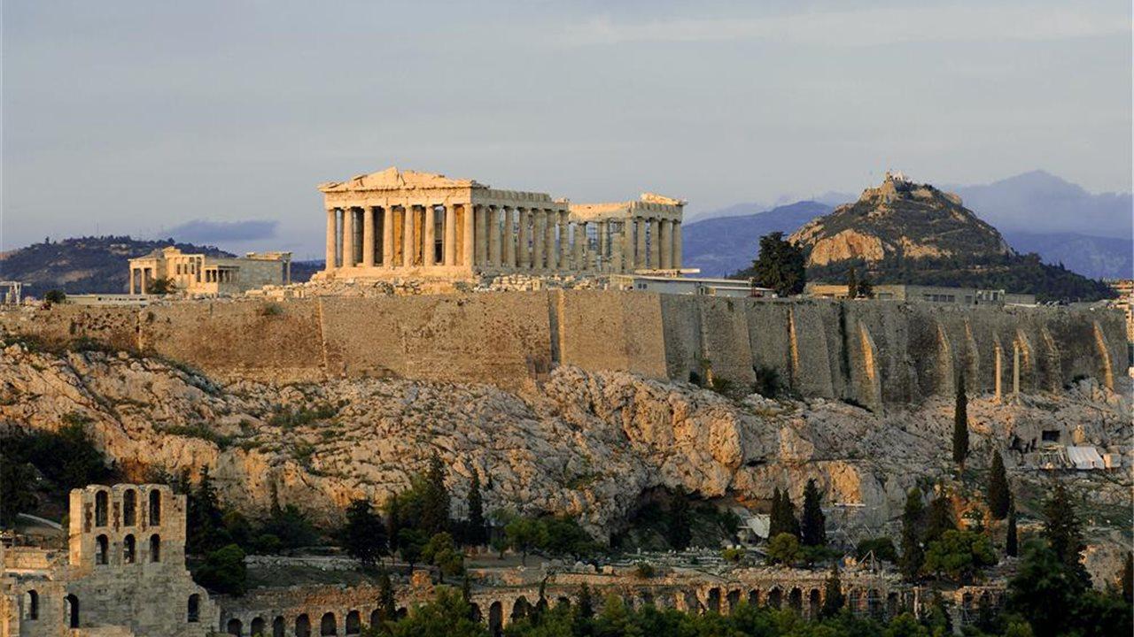 La magia de grecia en national geographic for Casas griegas antiguas