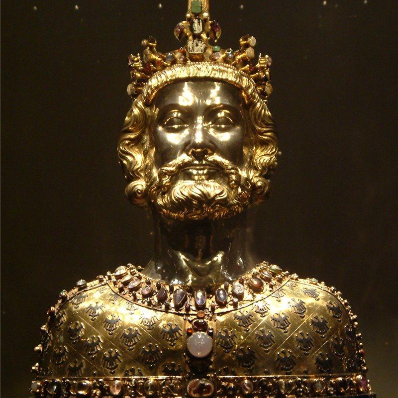 La Muerte Del Emperador Carlomagno