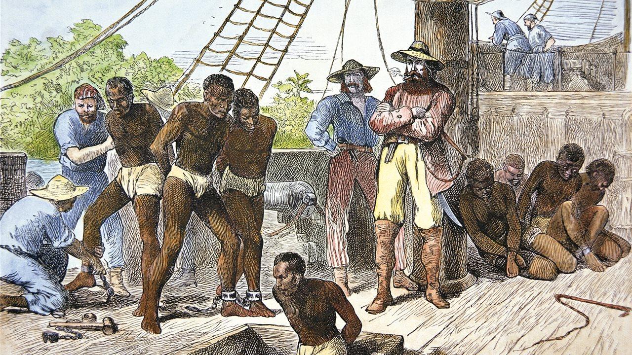 Esclavos, la trata humana a través del Atlántico