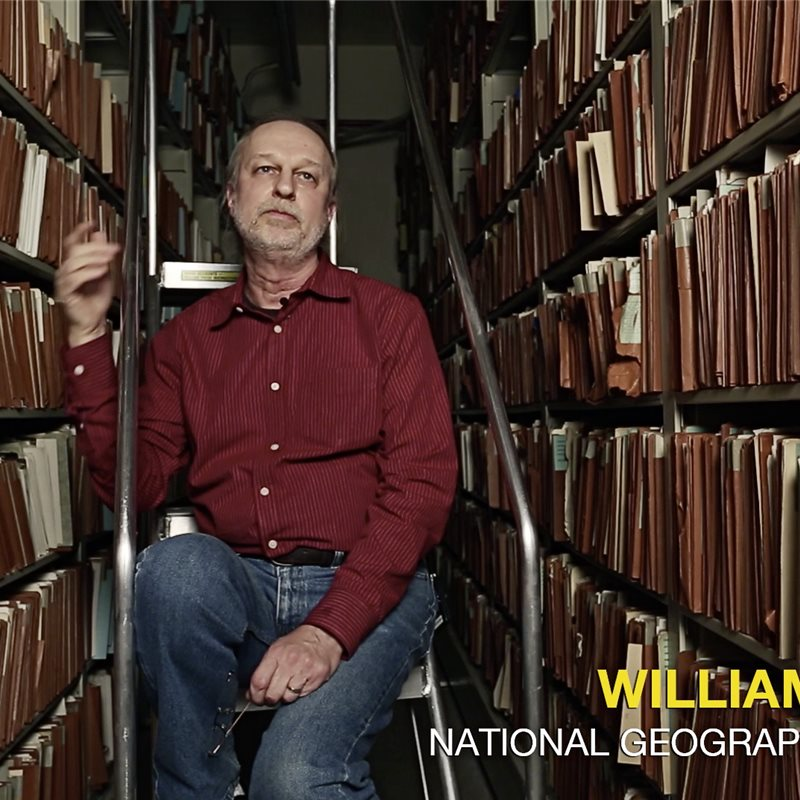 Will Bonner, archivero de National Geographic
