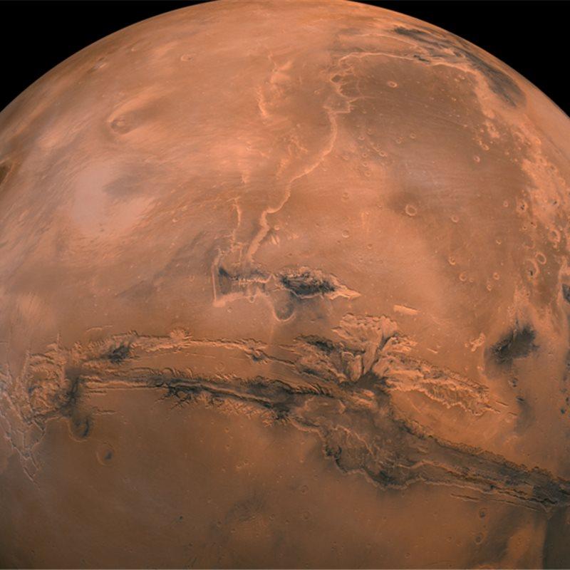 ¿Cómo imaginaba Marte Carl Sagan?