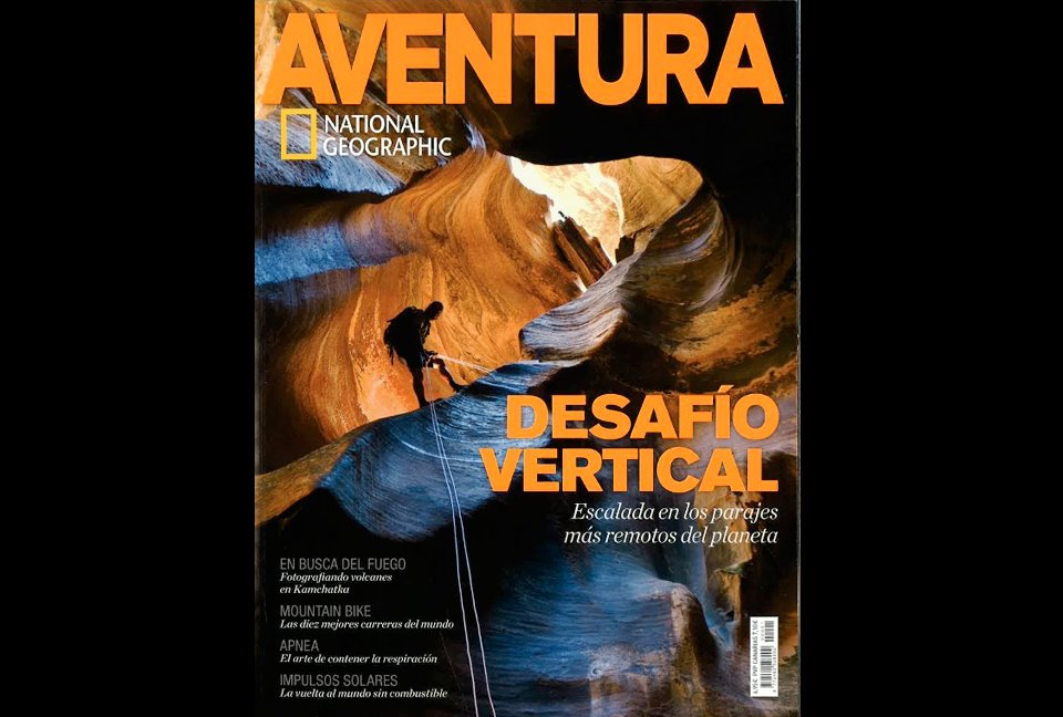 Portada de Aventura National Geographic