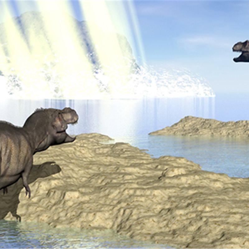 El incendio que acabó con los dinosaurios