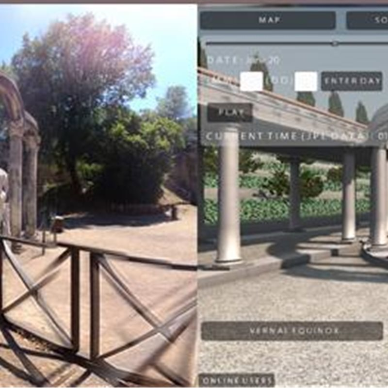 Un tour virtual por la Villa Adriana